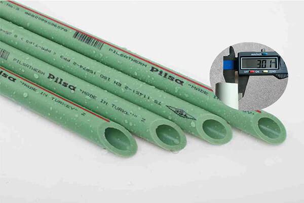 市场常用2.5水管